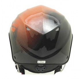 Casque Icaro Solar X orange back