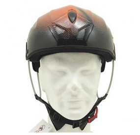 Casque Icaro Solar X orange front