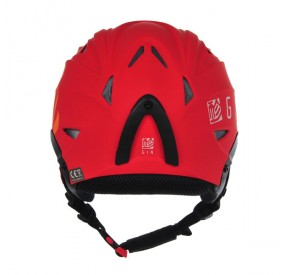 Casque Gin rouge back