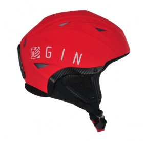 Casque Gin rouge right side