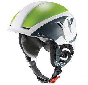 Casque SUPAIR PILOT - Petrol Green White - face