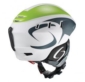 Casque SUPAIR PILOT - Petrol Green White - back
