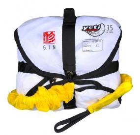 Parachute de secours GIN Yeti Rescue 35