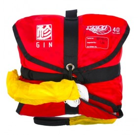 Parachute de secours GIN Yeti Rescue 40