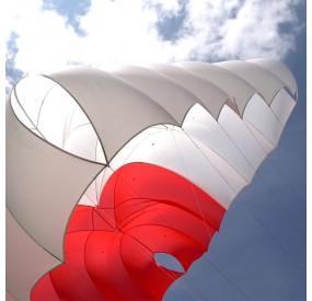 Parachute carré Supair Fluid Light