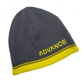 Bonnet Advance Beanie Light-Grey Yellow