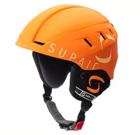 Casque SUPAIR PILOT - Orange - face