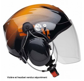 Casque Icaro Solar X Orange avec options