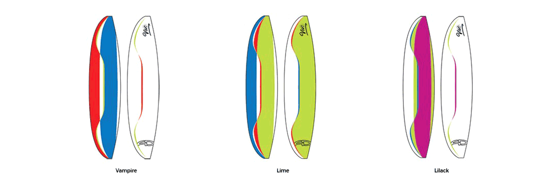 AirDesign Vivo EN-B - couleurs