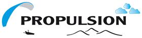 Logo école parapente Propulsion