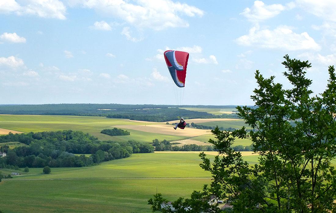 Parapente Propulsion plaines de Seine-et-Marne