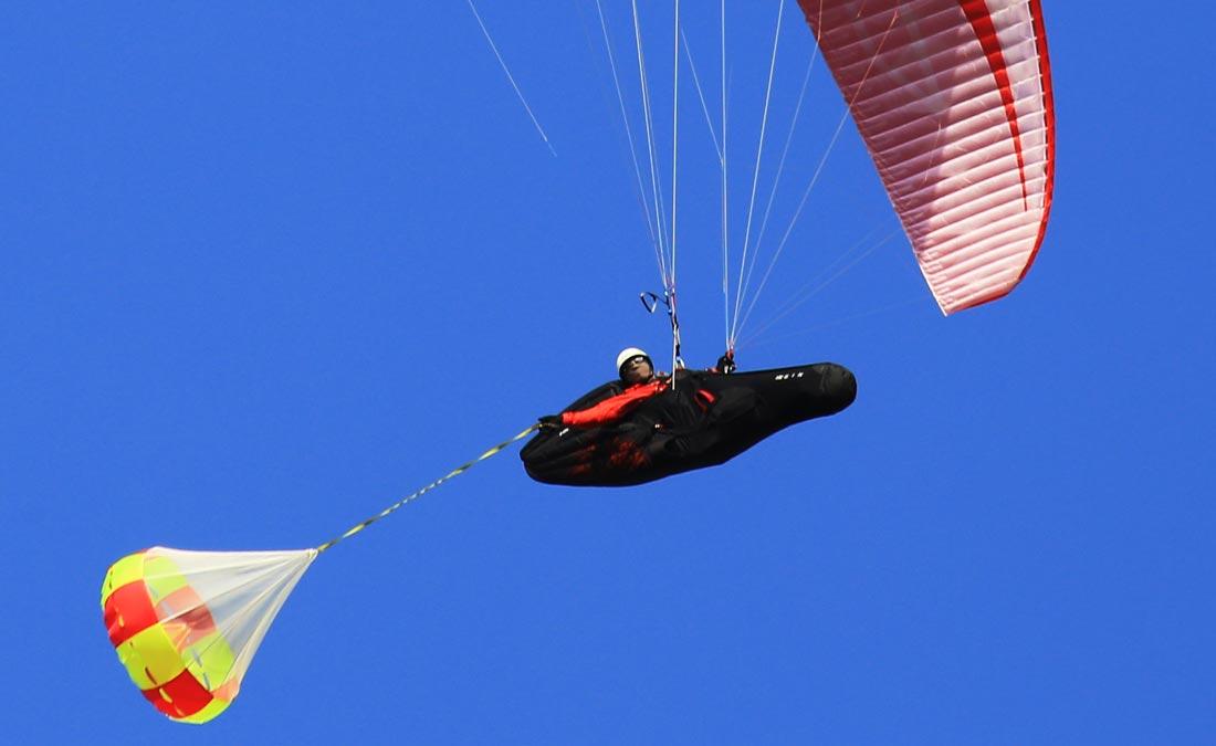 Drag parachute G-chute GIN