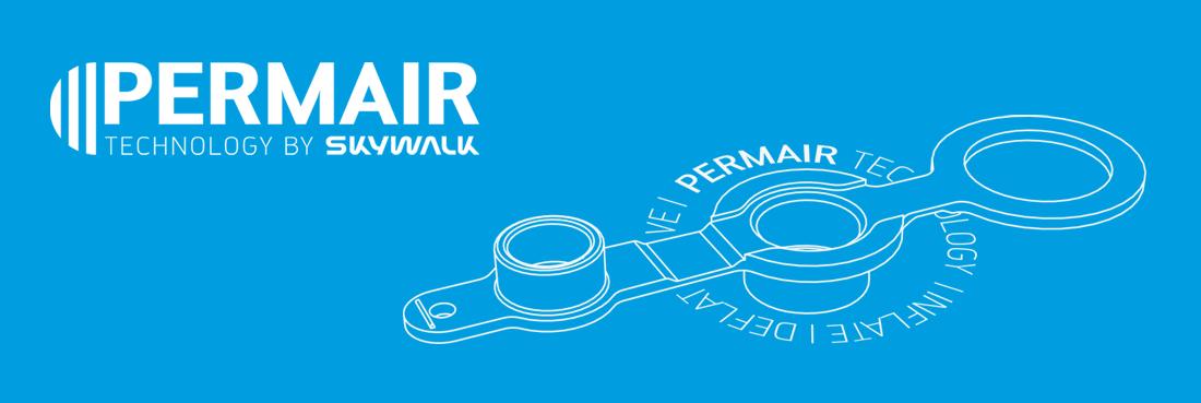 Sellette Skywalk Core - technologie Permair 2.0