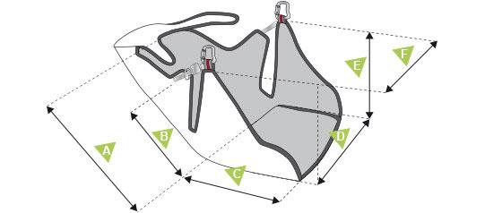 Supair Radical 3 - schema mesures