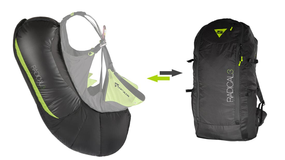 Sac Airbag Radical 3 Supair