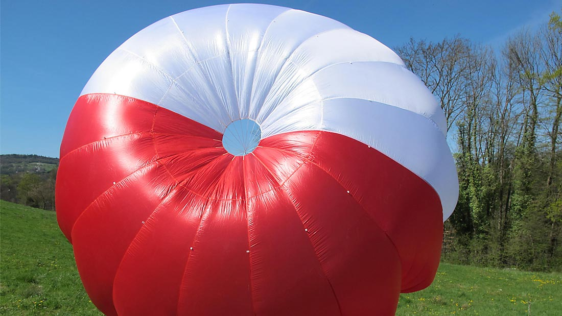Parachute de secours Supair Start