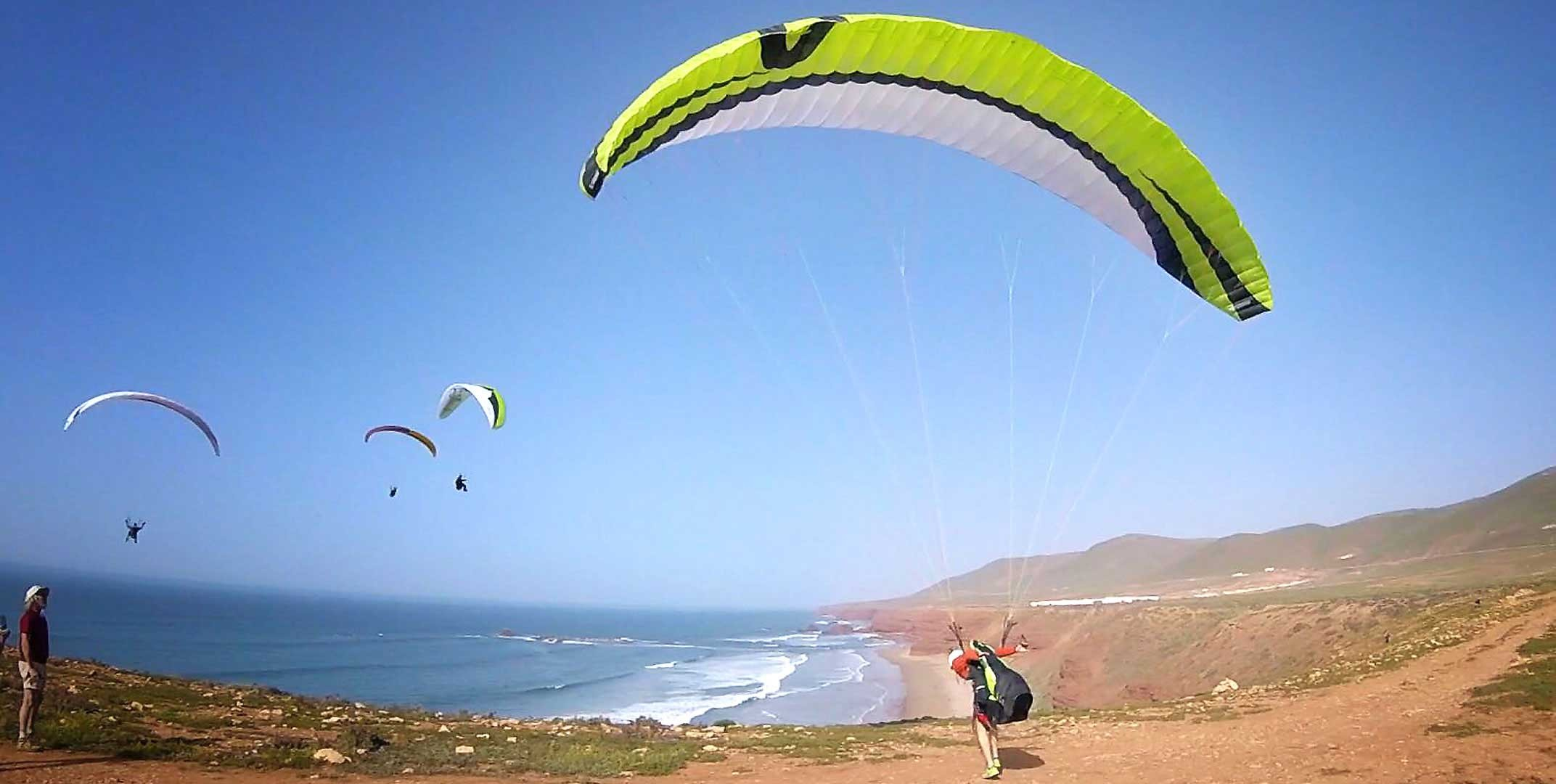 Sellettes parapente
